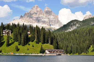 Lake Misurina, Dolomites