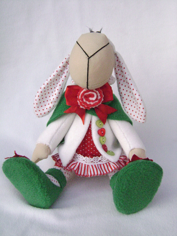 Интерьерные текстильные игрушки своими руками 9