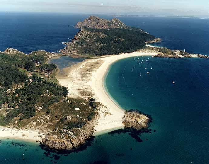 COOL WALLPAPERS: las islas cíes galicia spain