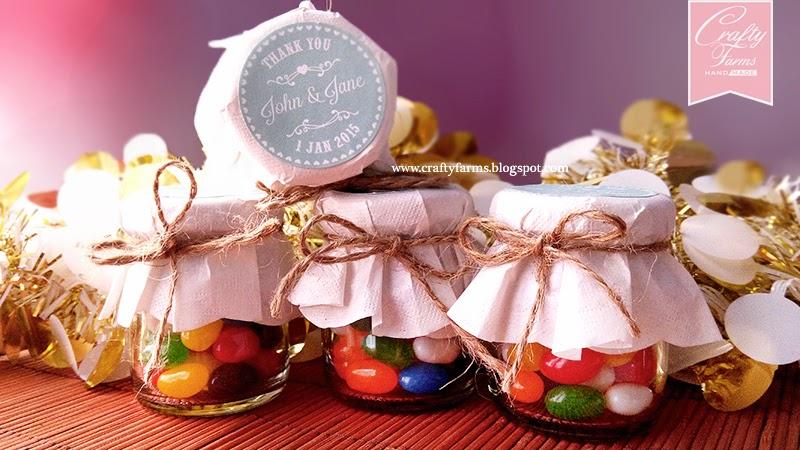 Sweet Treats Jelly Bean Wedding Door Gift Favour Malaysia, Hantaran Kahwin, Budget wedding favour, budget hantaran malaysia