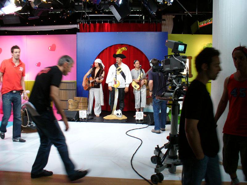 Benjamin Nico et Bastien émission spéciale pirates Direct 8 en 2007