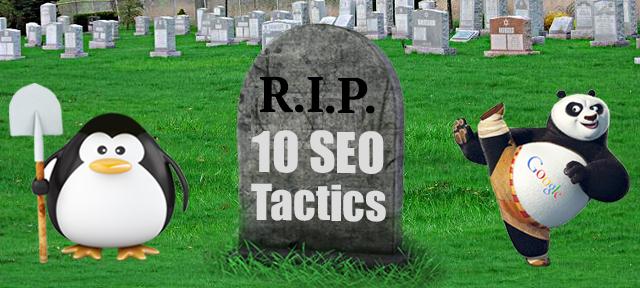 10 Dead SEO Tactics (And Their Alternatives)