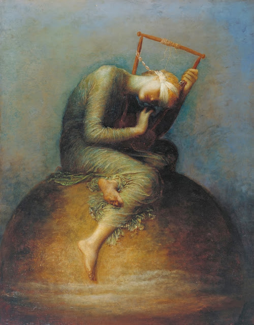 hope, watts,symbolist painting