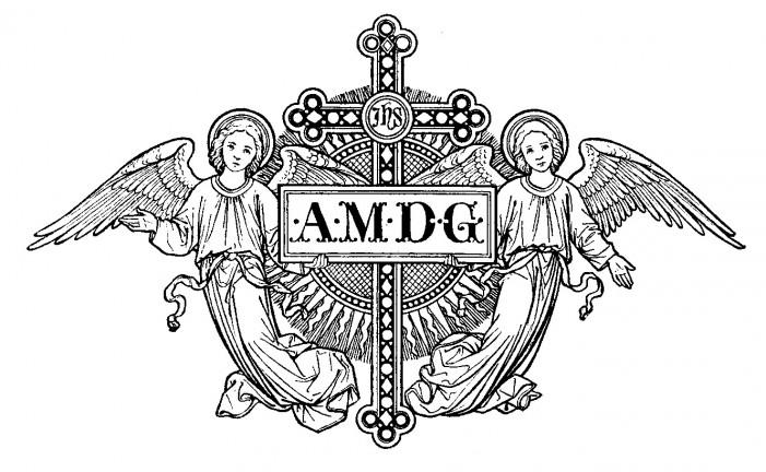 Back gt gallery for gt jesuit symbol amdg