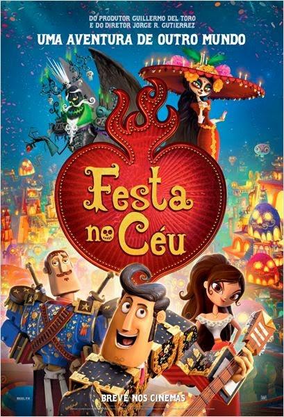 Filme Poster Festa no Céu TS XviD & RMVB Dublado