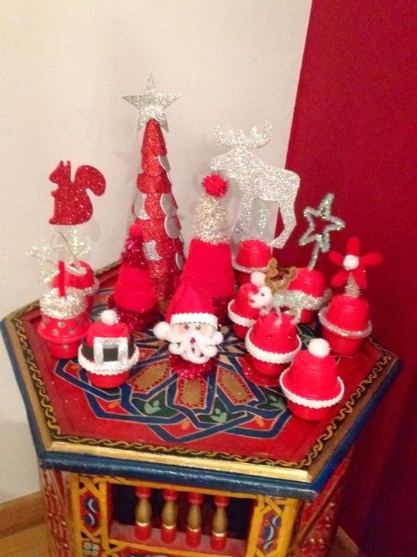 Manualidades amelia diciembre 2013 - Decoracion navidad goma eva ...