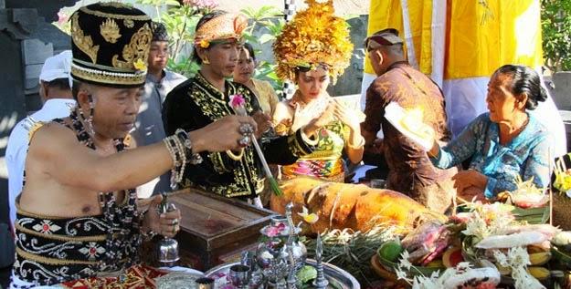 Upacara Pernikahan Hindu Bali