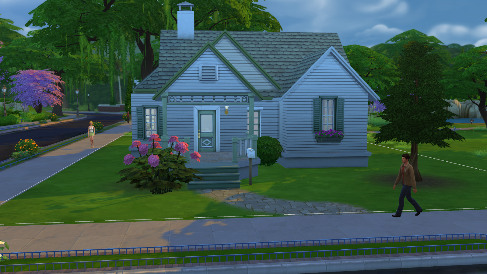 Every Sim Needs A Good Place To Startd This Little Cottage Has  Everything They Need Including Plenty Of Space And A Price Tag A Single Sim  Can Afford