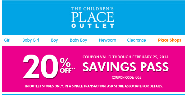graphic relating to Childrens Place Printable Coupon named The childrens location coupon code oct 2018 - Undertaking