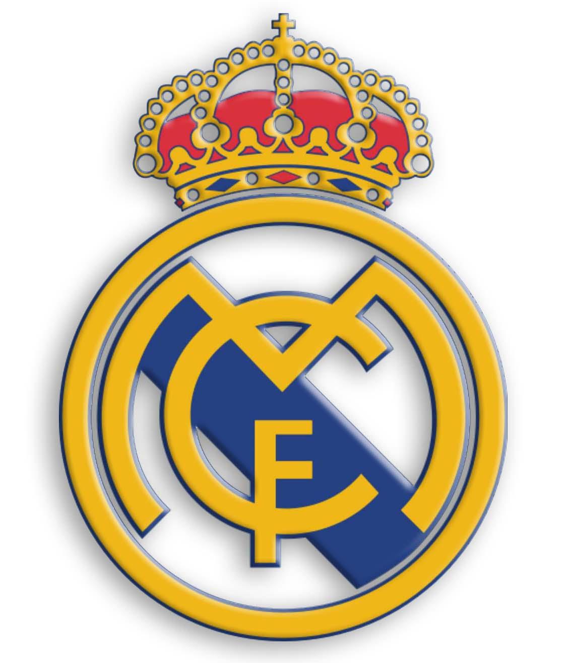 Evolución del escudo del Real Madrid durante sus 100