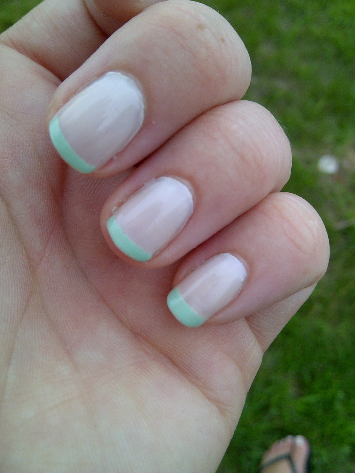 Normal French Tip Nails Normal French Manicure Tip