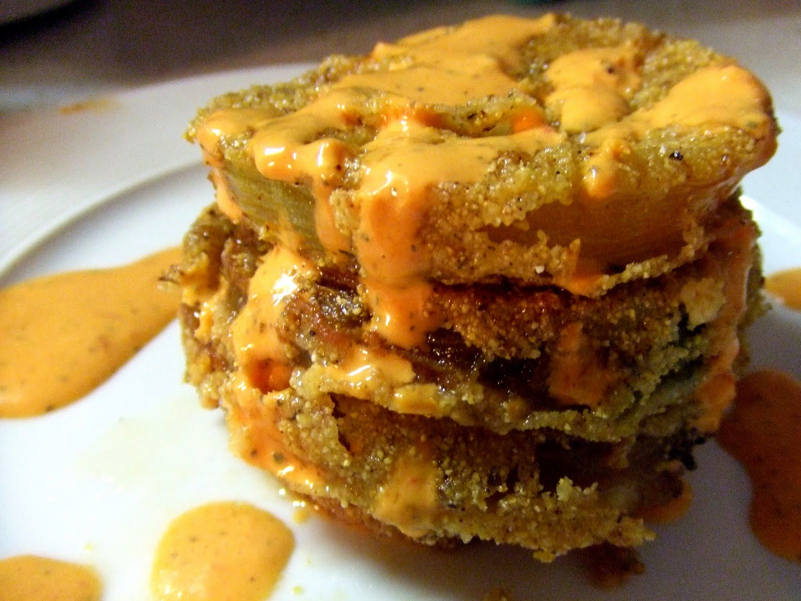 Oh, what I wouldn't give for a plate of fried green tomatoes like we ...