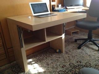 Cuesti n de espacio mi llave allen - Mesas escritorio plegables ...