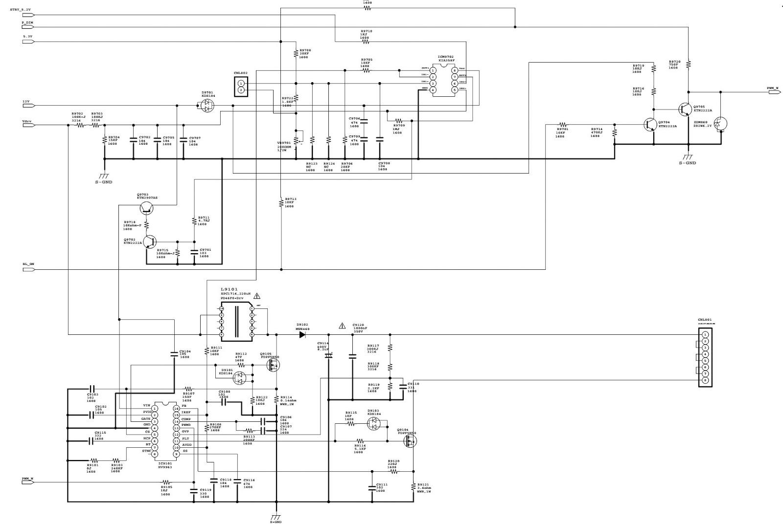 philips tv power supply schematic wiring diagram website
