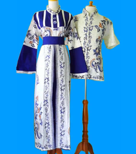 Gamis Batik Muslimah Modern Dengan Model Baju Batik