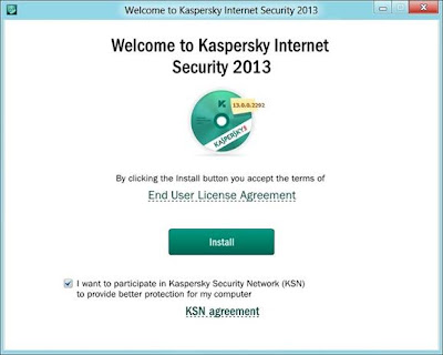 Kaspersky Internet Security 2013 – Installation