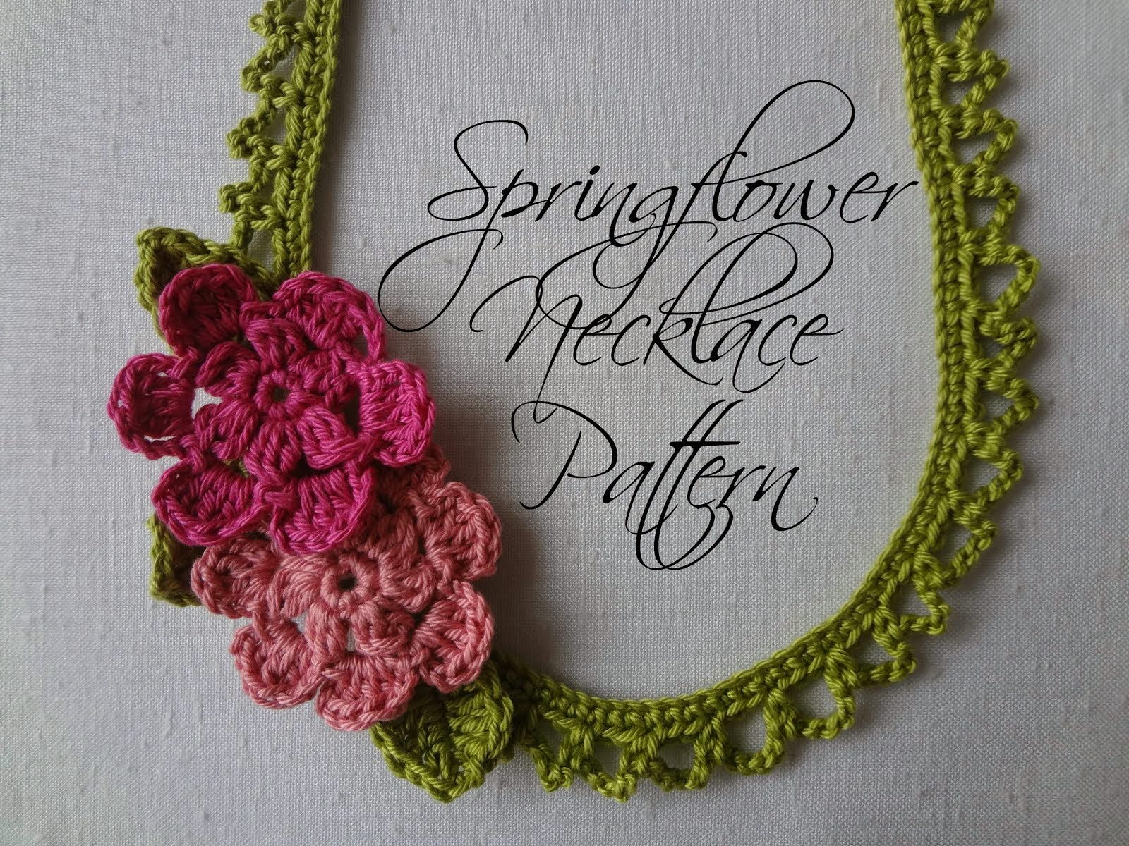 Springflower Necklace