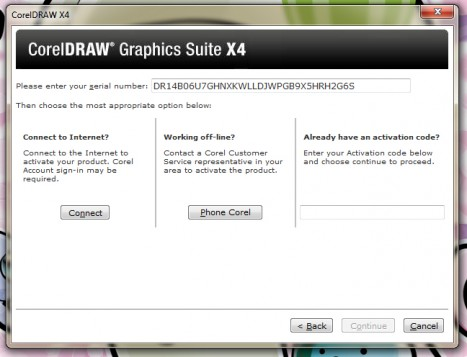 corel draw x7 serial number free download