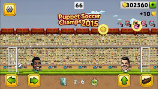 Screenshots of the Puppet soccer champions 2015 for Android tablet, phone.