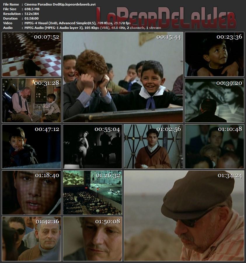 Cinema Paradiso - 1988 - 1080p [Sub] + Dvdrip [Latino] + Bso