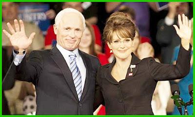 John McCain and Sarah Palin