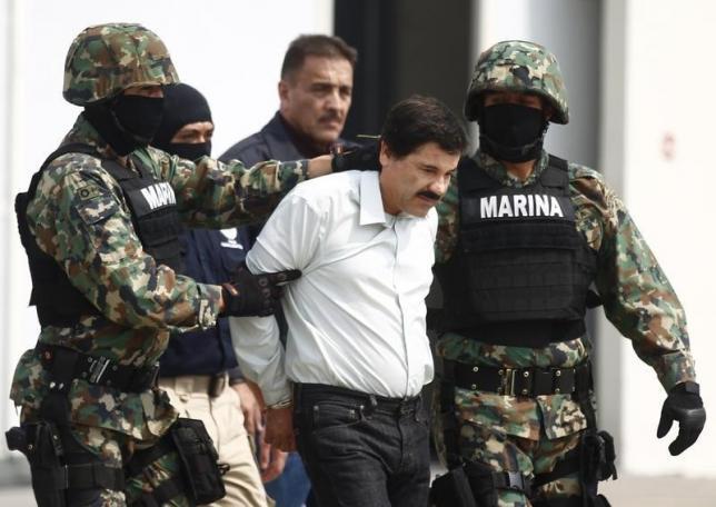 """Chefão mexicano """"Chapo"""" Guzman escapa da prisão pela segunda vez"""