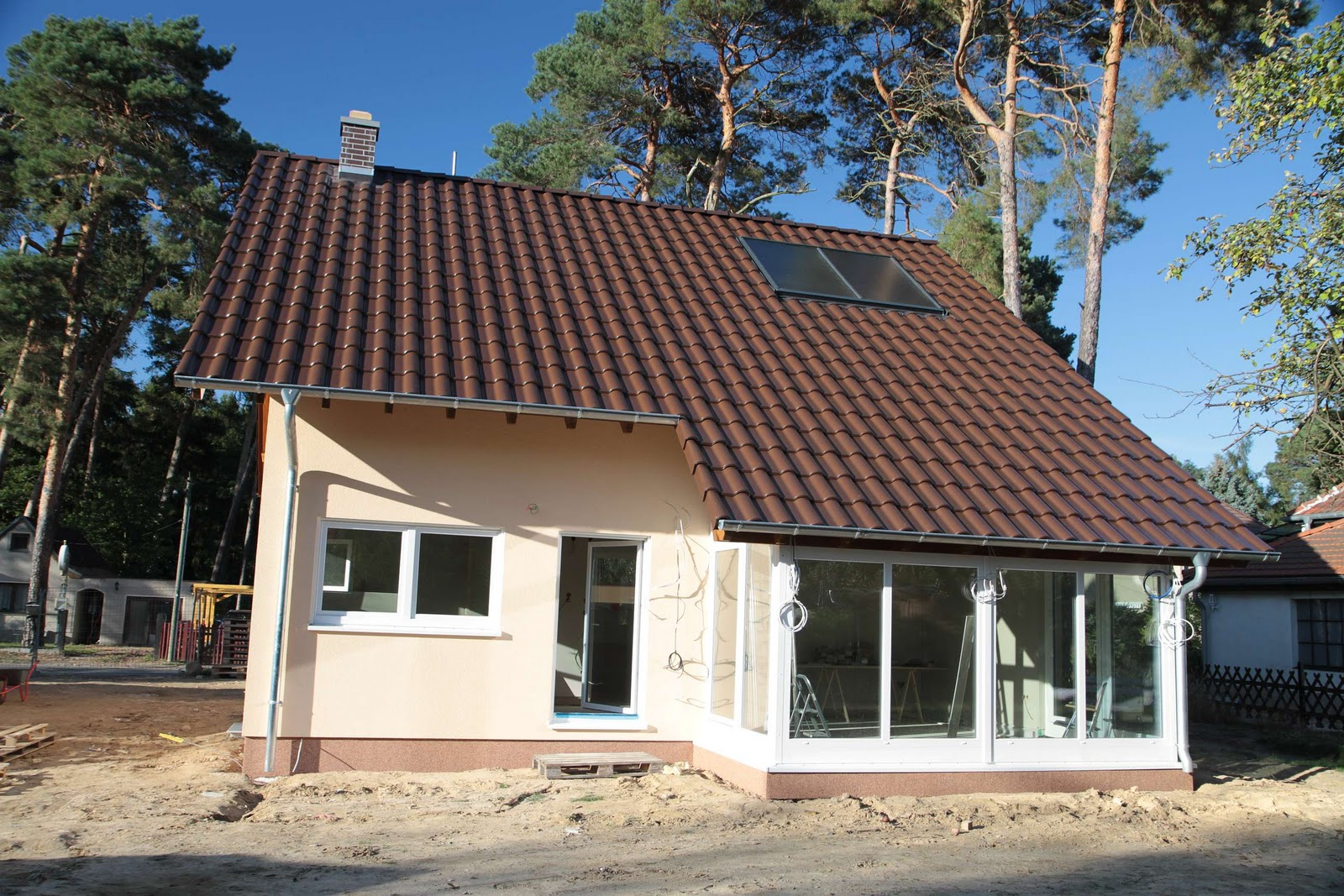 Fingerhaus vio 200  Unser Bauvorhaben in Wildau: Oktober 2011
