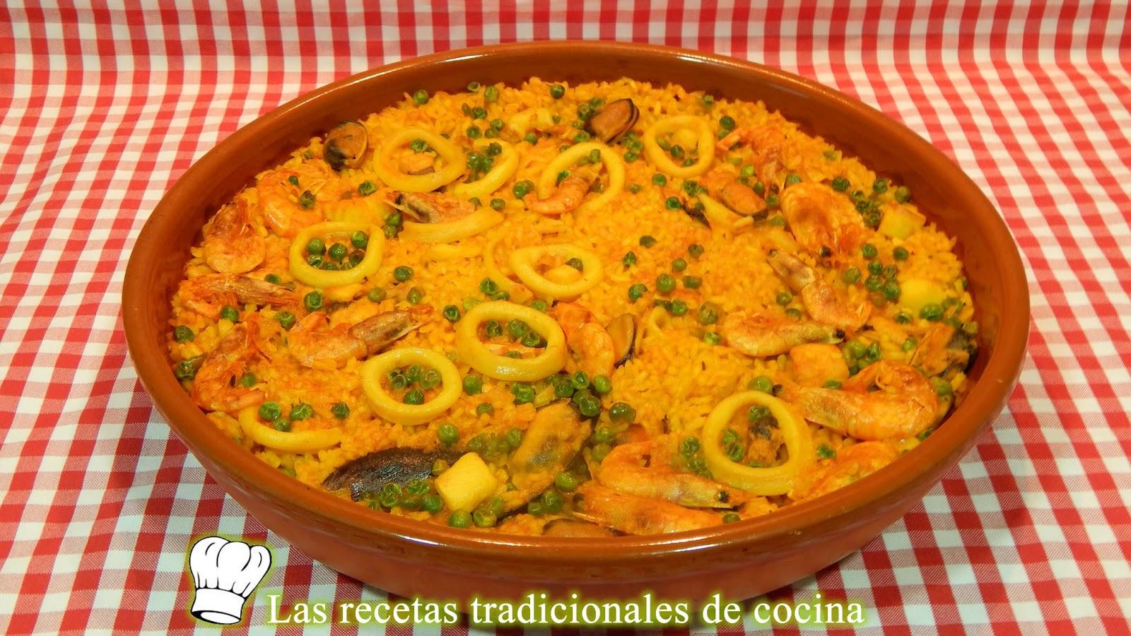 Receta de arroz de marisco al horno en menos de 30 minutos for Cocinar en 30 minutos