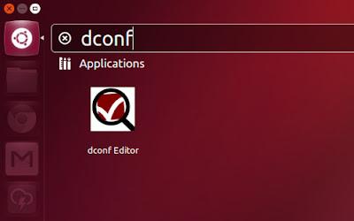 DCONF Ubuntu