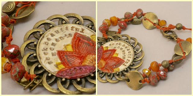 yoga bracelet by baymoondesign
