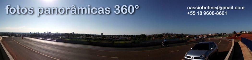 Fotos panorâmicas 360°