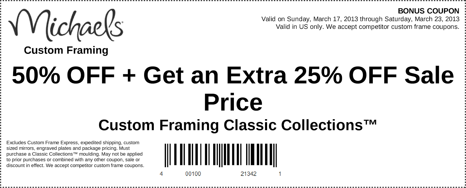 Craft Store: Joann Craft Store Coupons