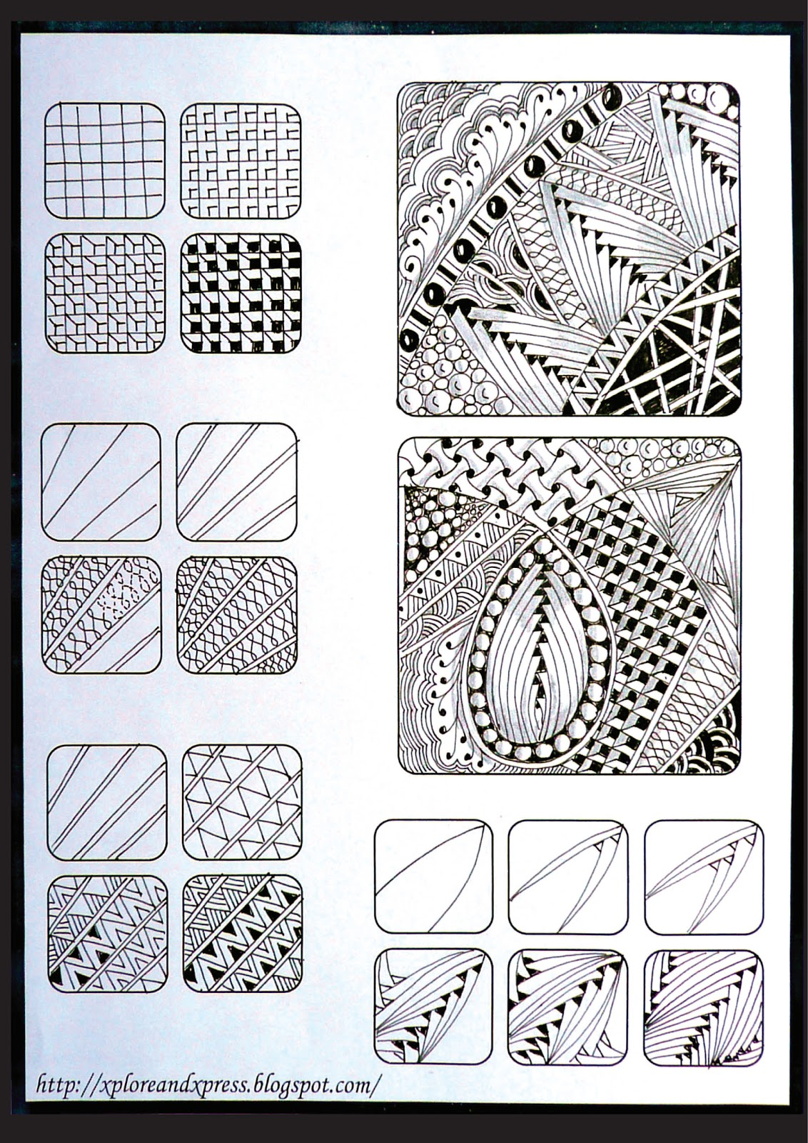 Creating Line Designs : Zen tangle art on pinterest zentangle