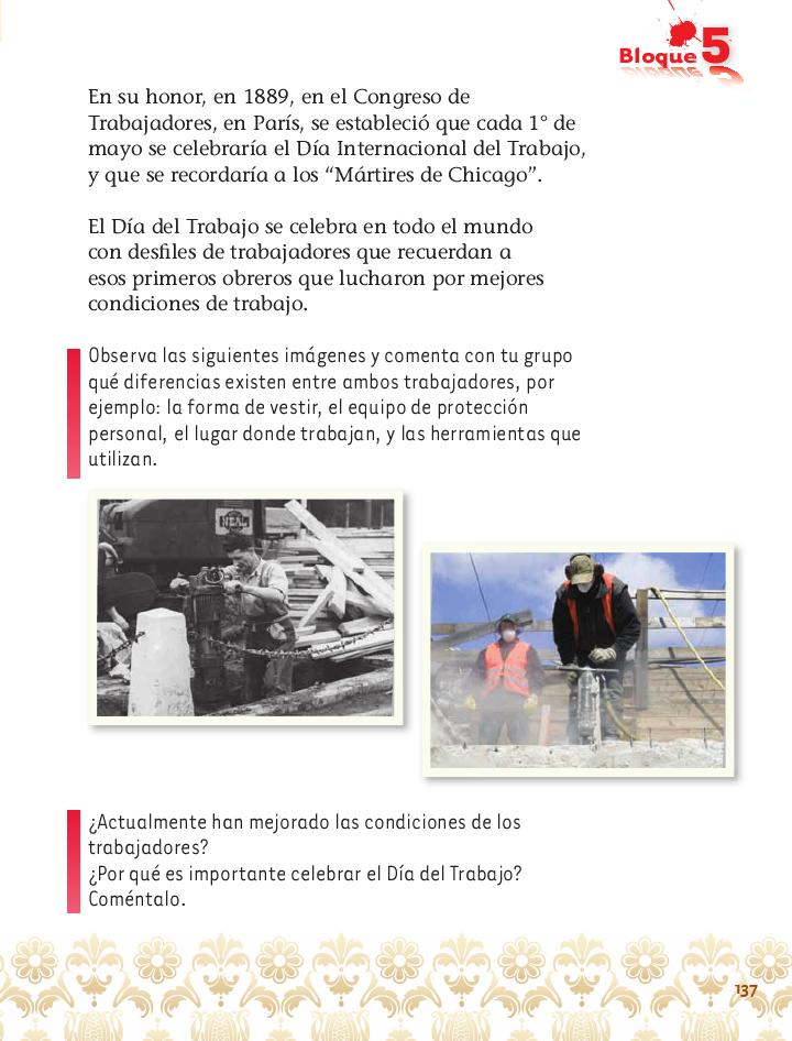 El Día Internacional del Trabajo exploración de la naturaleza 2do bloque 5/2014-2015