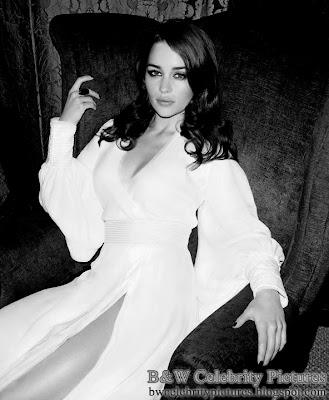 B&W pics of Emilia Clarke picture 1