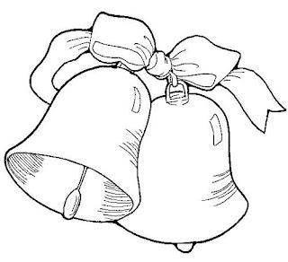 sinos de natal-desenhos para colorir