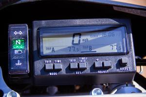 2012 Suzuki DR-Z400S Dashboard