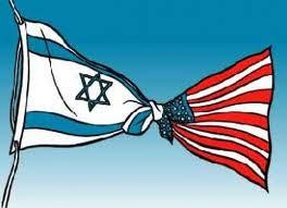 bendera israel dan amerika