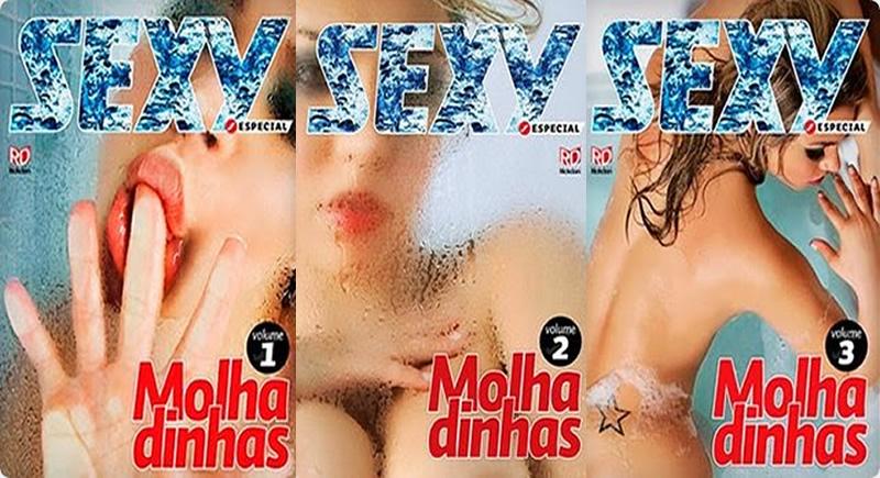 Especial Sexy Molhadinhas – Volumes 1 2 e 3