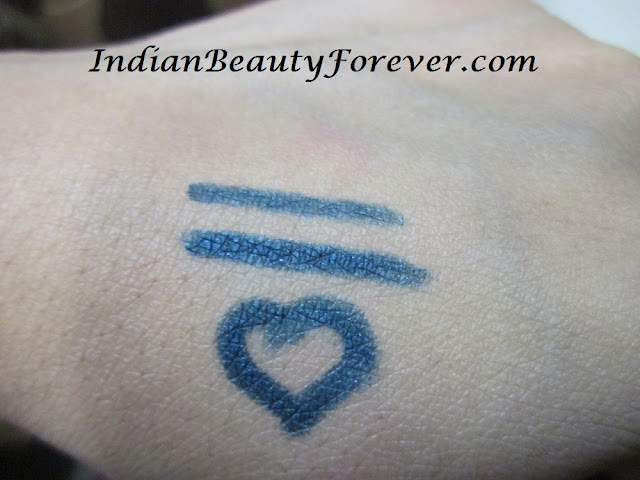 faces eye pencil blue swatch