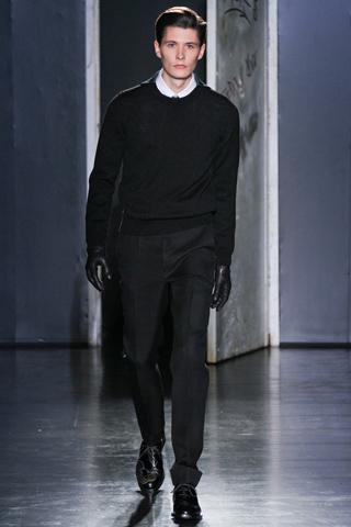 Jil Sander hombres otoño 2012