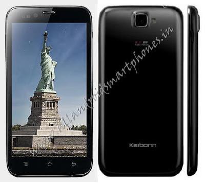 Karbonn S5 Titanium 3G Android Smartphone Images & Photos Review