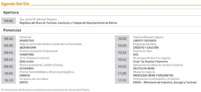 Agenda Impulsando Pymes Palma de Mallorca