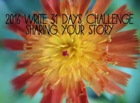 October 2016 Write 31 Days Challenge