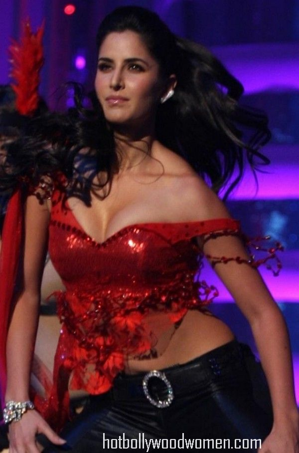 Katrina Kaif without bra, cleavage show
