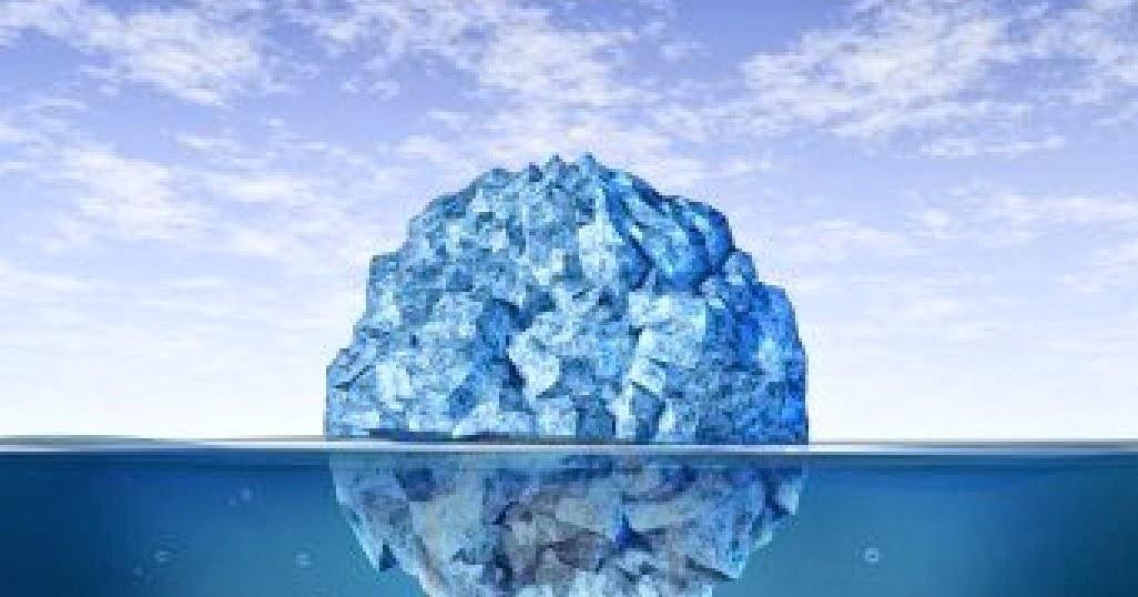92fe0265d0d Ponderamentos meus...  O iceberg