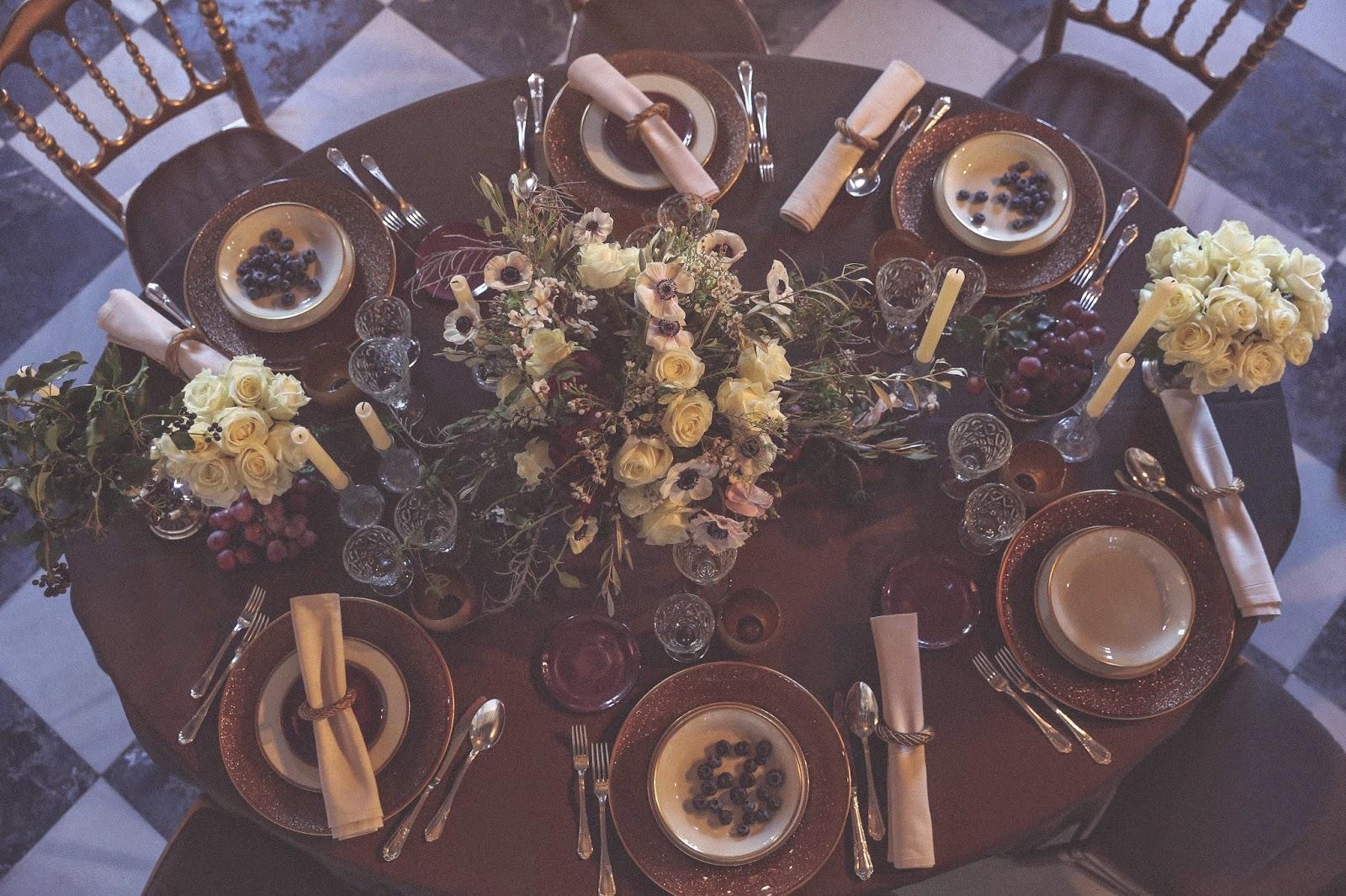 mesa decoracion barroca