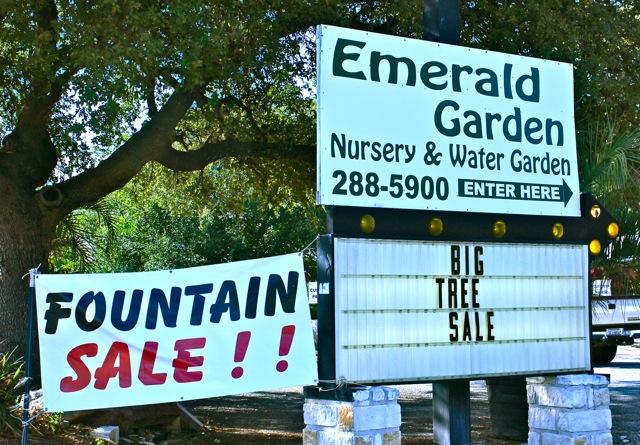 Sharing Nature 39 S Garden Austin Nurseries Giveaway Emerald Garden Nursery Water Garden