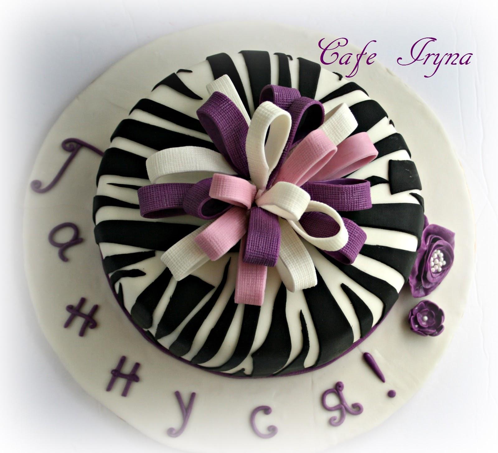 Пирожные мультяшные