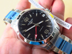 LONGINES GMT BLACK DIAL - AUTOMATIC